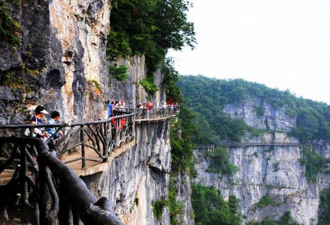 Волшебная пещера Западной Хунани 4