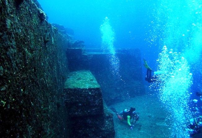 Город Йонагуни под водой 4