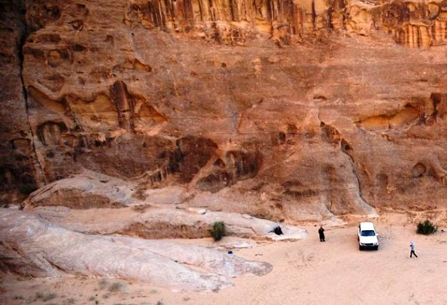 Лунная пустыня Вади Рам 4