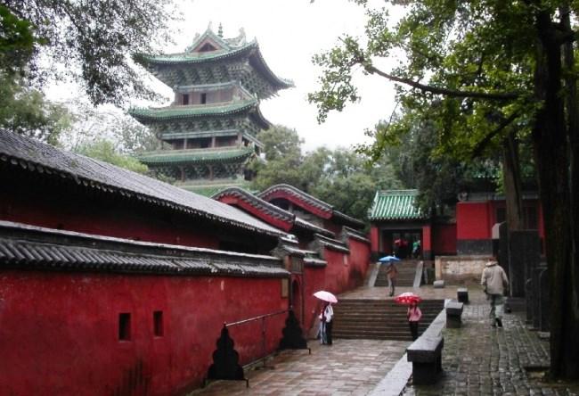 Монастырь Шаолинь  родина боевого искусства 3