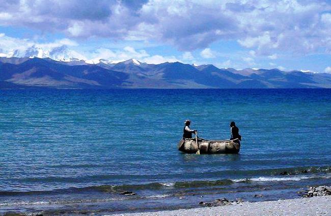 Озеро Намцо - 4718 метров над уровнем моря