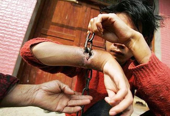 Тюрьма Драпчи в Тибете