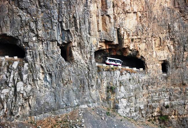 1465.аз. Опасная дорога Guoliang Road 2