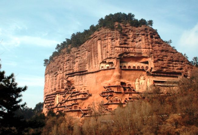 Храм Майджишан в Ганьсу 2 1488.аз