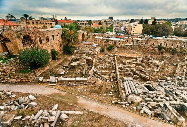 Древний библейский город Библ 3 1540.аз