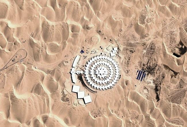 Отель Desert Lotus в поющей пустыне Сяншавань 3