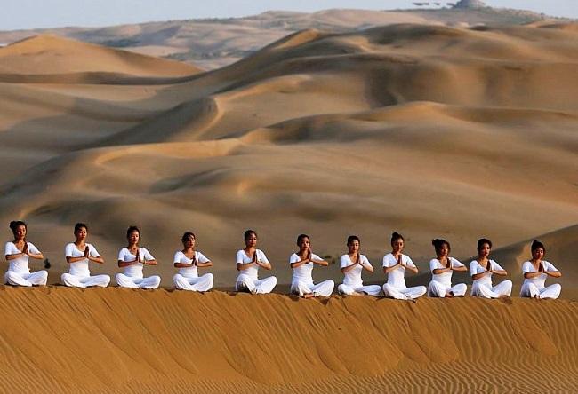 Отель Desert Lotus в поющей пустыне Сяншавань 4