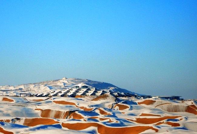 Отель Desert Lotus в поющей пустыне Сяншавань 5