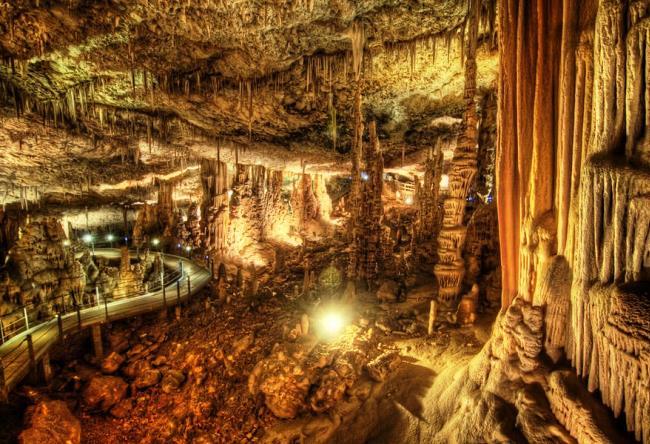 Пещера Сорек Авшалом в Бейт-Шамеш 5