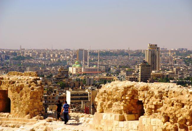 Самый населенный в Сирии город  Алеппо 2