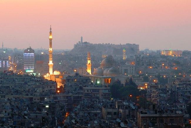 Самый населенный в Сирии город  Алеппо 5