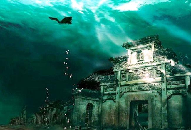 Шинчэн  город под водой 2