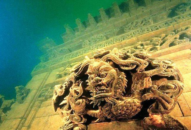Шинчэн  город под водой 4