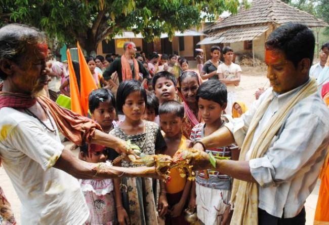 Индийские свадьбы лягушек 4
