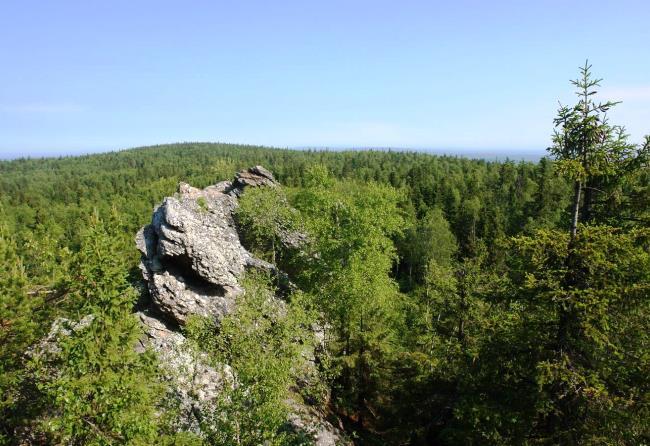 Легендарная уральская гора Шунут-Камень и источник Платониды