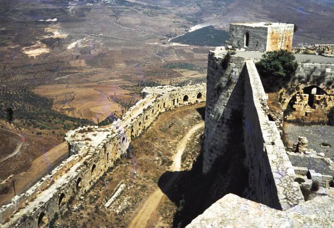Средневековую крепость Крак де Шевалье не разрушат никакие землетрясения