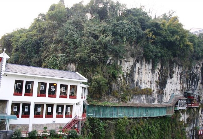 Висящий ресторан Fangweng 4