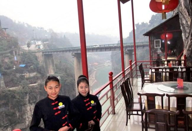 Висящий ресторан Fangweng 5