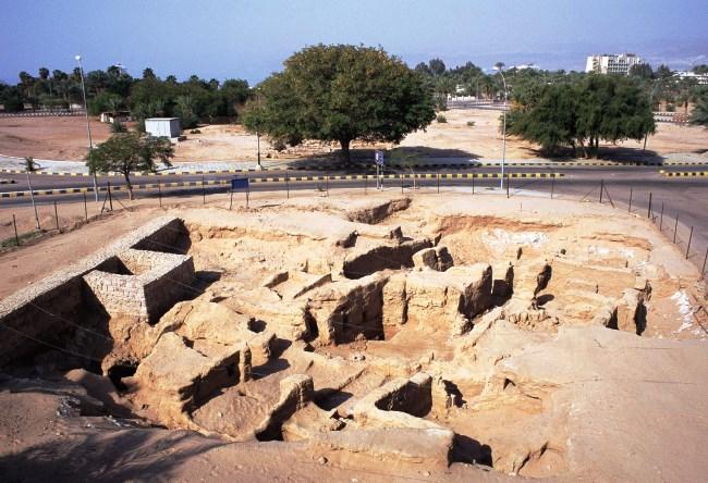 Руины Айла  древнейший город ислама 3