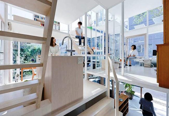 Прозрачный дом в Токио 4