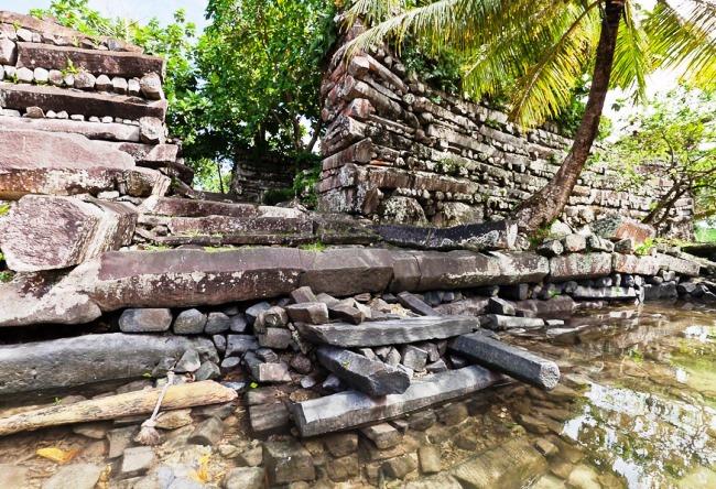 Каменный город Нан-Мадол 5