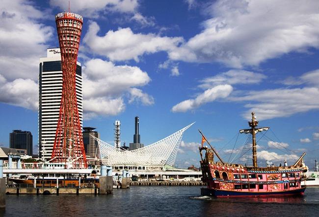 Главный порт и город Кобе 2