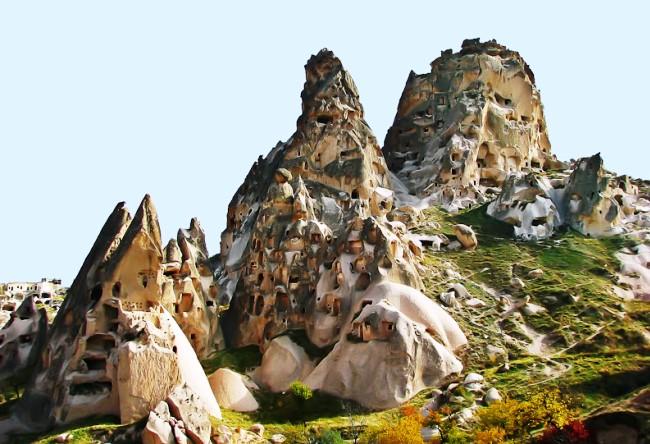 Каменный городок Каппадоки 2