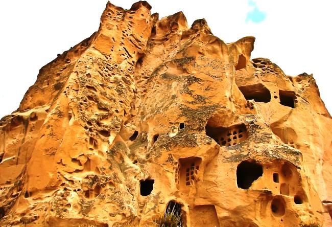 Каменный городок Каппадоки 3