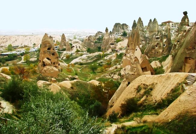 Каменный городок Каппадоки 4