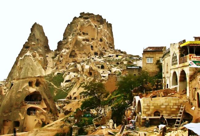 Каменный городок Каппадоки 5