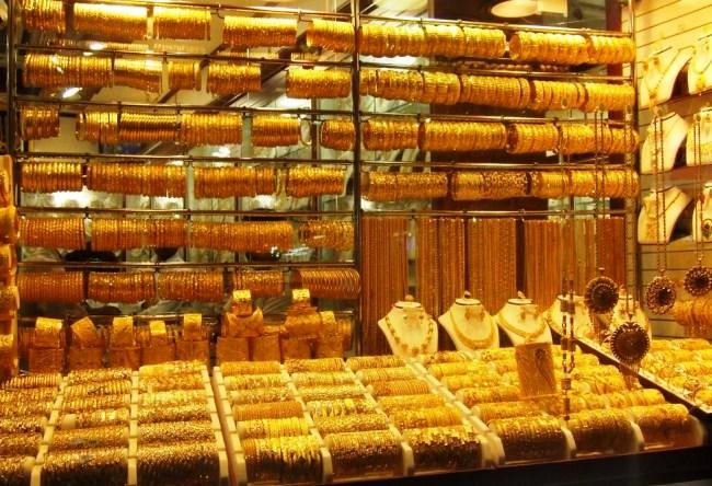 Все золото Дубаи  Gold Souk 3
