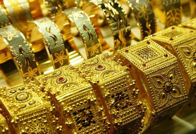 Все золото Дубаи  Gold Souk 4