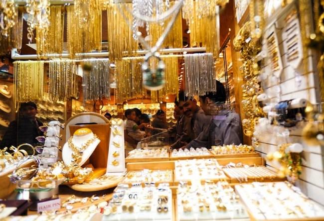 Все золото Дубаи  Gold Souk 5