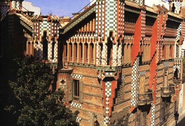 Дом Висенс и Барселона 4