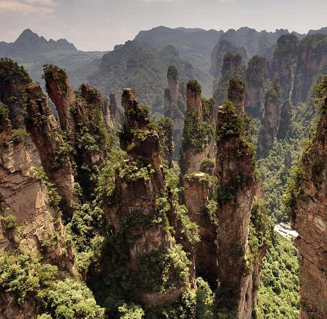 Peaks rocks Ulinyuan