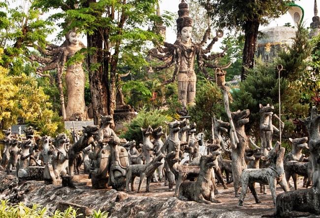 Парк самых высоких скульптур в мире 4