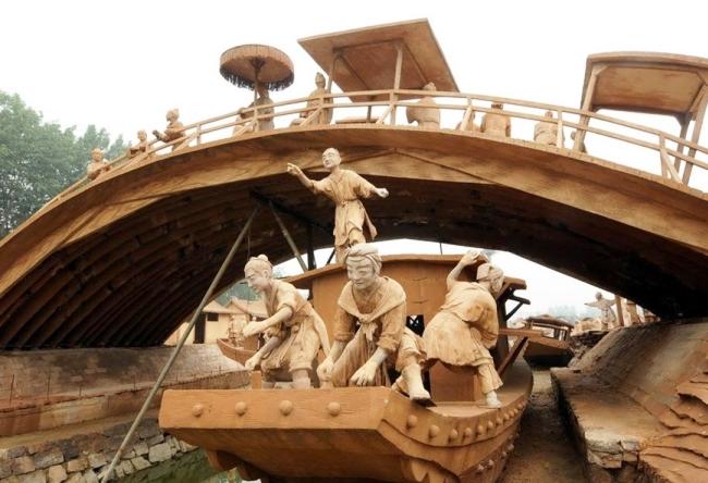 Парк скульптур из глины в Феникс-городе 3