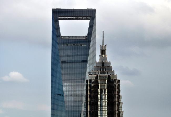 Shanghai World Financial Center the building opener 3