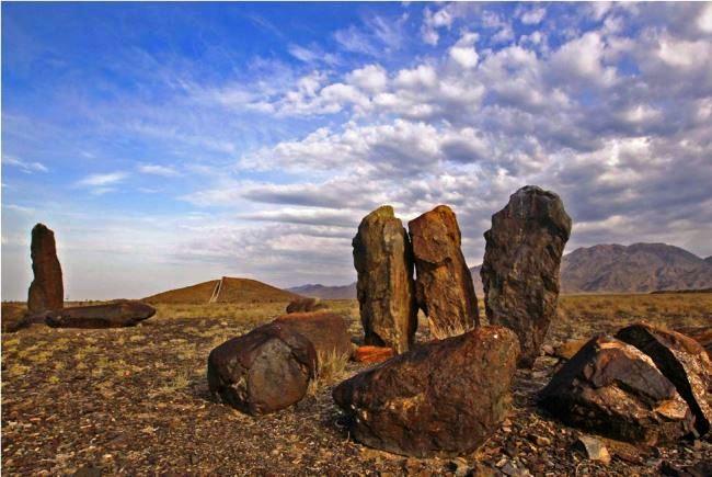 Reserve Altyn-Emel necropolis Besshatyr 3