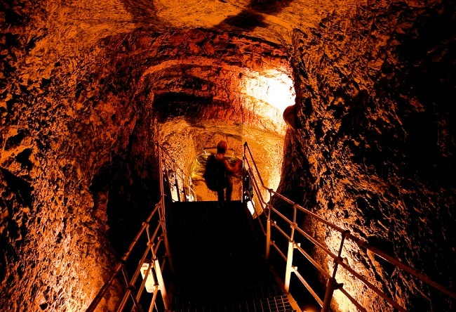 Jerusalem the Siloam Tunnel 3