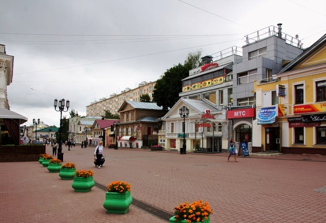 Nizhny Novgorod is a city in the hills 3