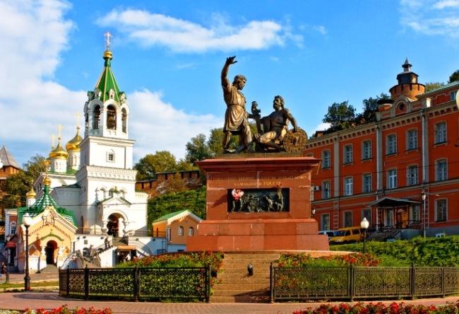Nizhny Novgorod is a city in the hills 4