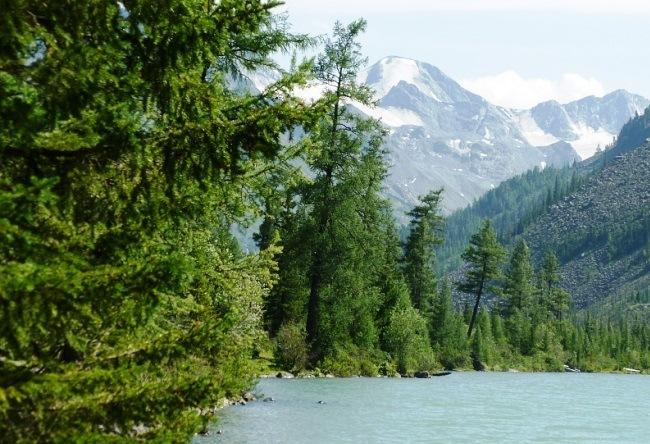 Multinskiye lake in Altai 3