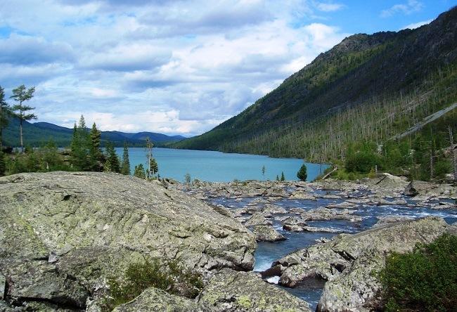 Multinskiye lake in Altai 4