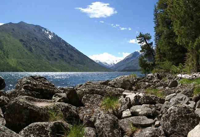 Multinskiye lake in Altai 5