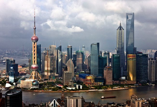 The most beautiful city is Shanghai 2