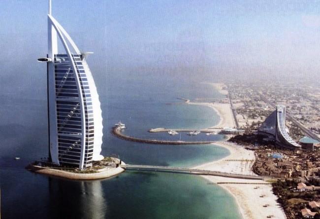 Al Arab the symbol of Dubai Burj 3