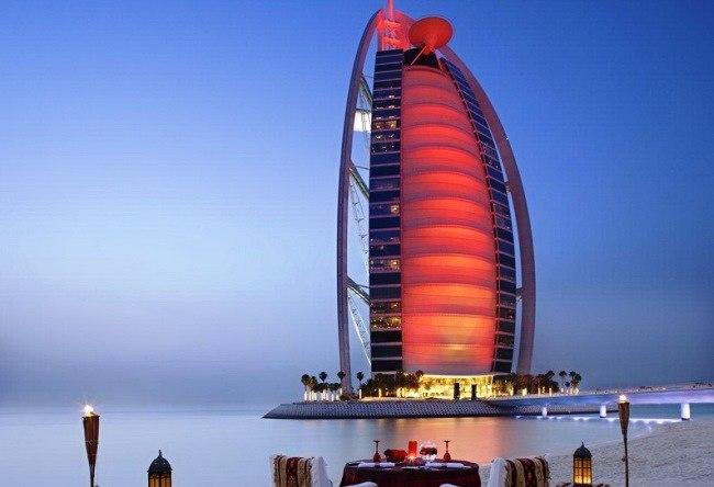 Al Arab the symbol of Dubai Burj 5