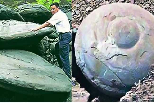 Boulders Drop Jiangxi Province 2