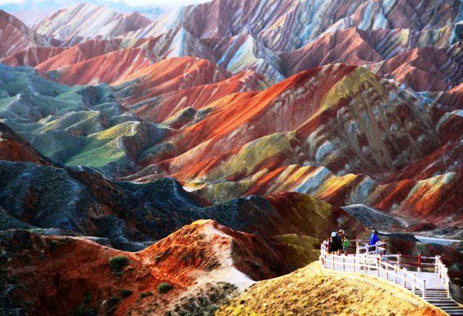 Multicolored rock Zhang Danks 3